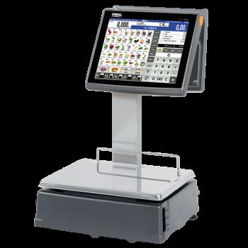 Elektronische weegschaal met touchscreen (ticket- en/of labelprinter) | D-900 serie