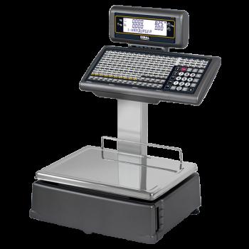 Elektronische weegschaal met toetsklavier (ticket- en/of labelprinter) | 500 Star serie