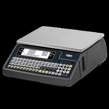 Elektronische weegschaal met toetsklavier (enkele printer) | 500 Wind serie