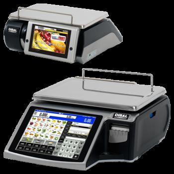 Elektronische weeg-labelmachine met touchscreen | D-900 serie