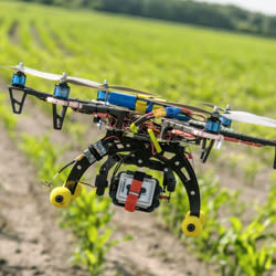 Sprinkler Drone applications design and development