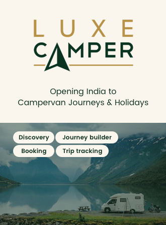 codewave travel casestudy: luxecamper - Bringing campervan experience to India. Campervan rental app with custom journey builder