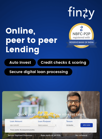 codewave finace and banking digital transformation solution - fintech solutions development casestudy: Finzy - online peer to peer lending