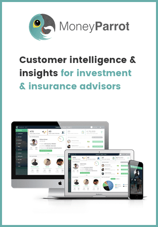 codewave finace and banking digital transformation solution - fintech solutions development casestudy: MoneyParrot - customer inteligence and insights & insurance advisors