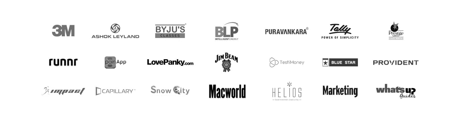 few customers codewave app design and development company bangalore