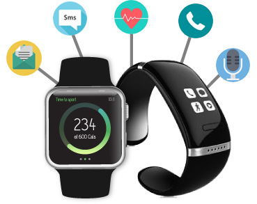 wearable app design development customization for ios android