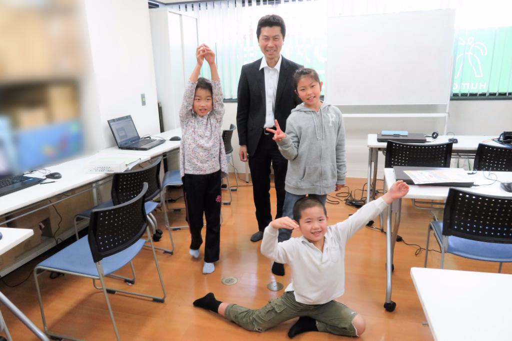 ヒューマンアカデミーアフタースクール 先生と生徒たち