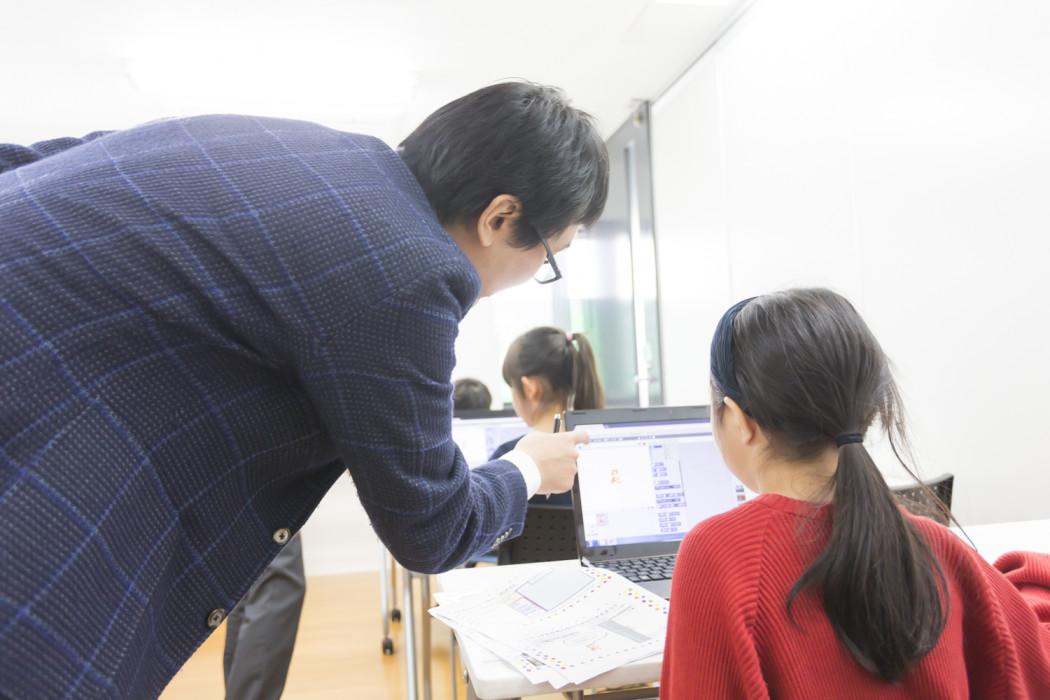 ヒューマンアカデミー こどもプログラミング教室 授業風景