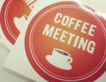 銀座でコーヒーミーティング!