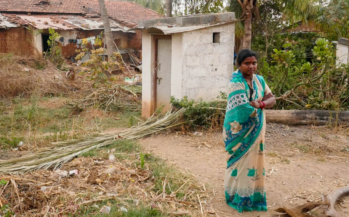 Good News: No toilet, no bride, says UP village in fight