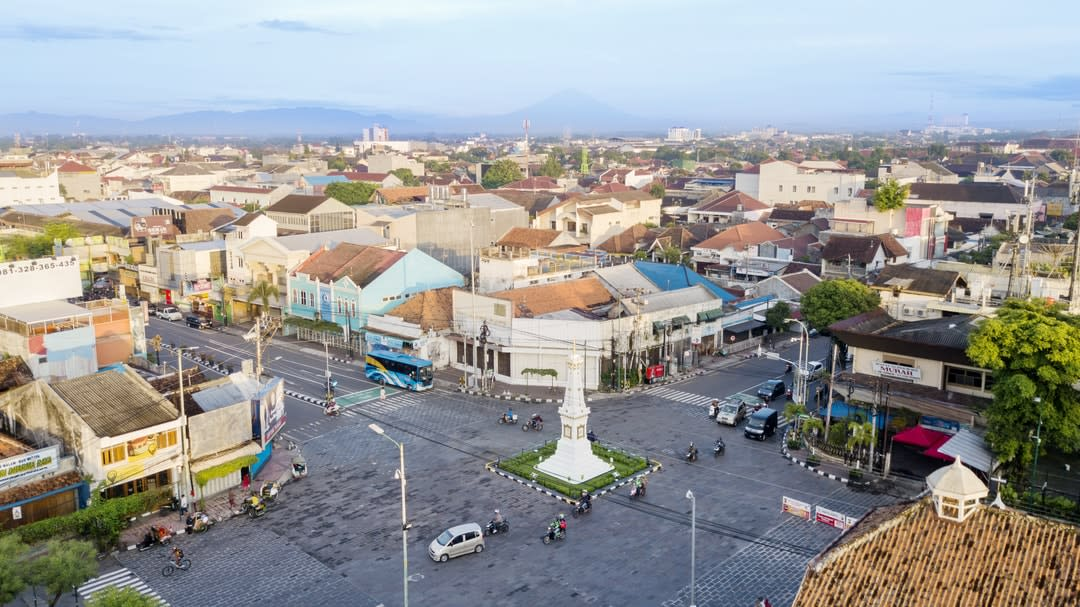 Yogyakarta, home to almost 500,000 Indonesians.