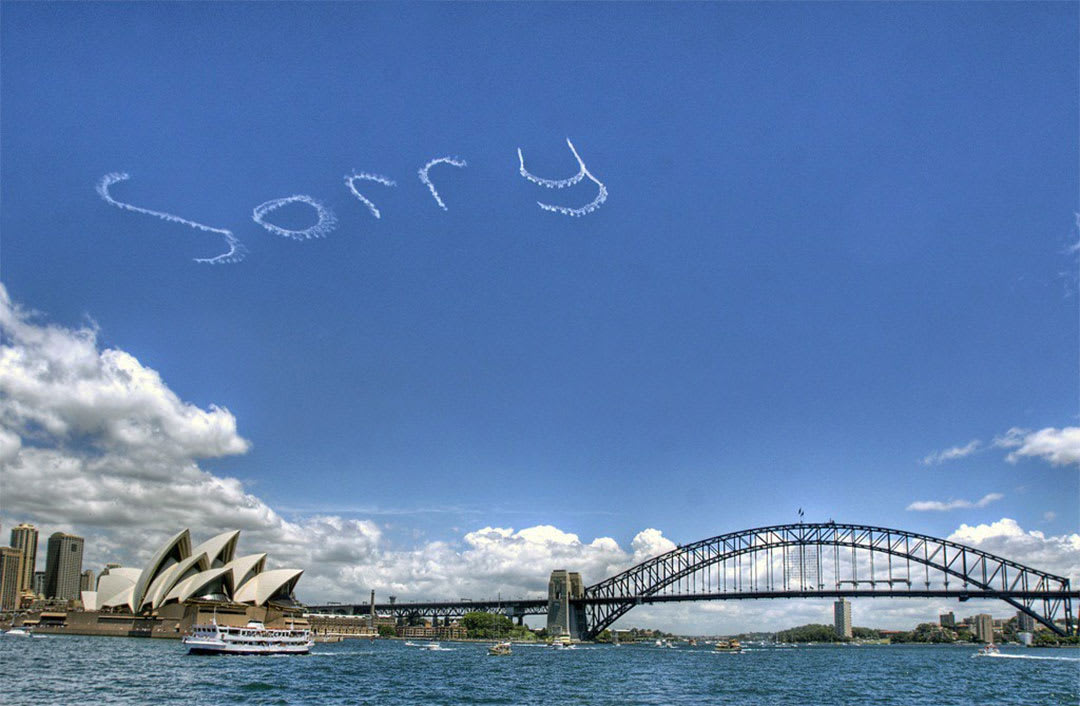Sorry day - reconcilliation day Australia