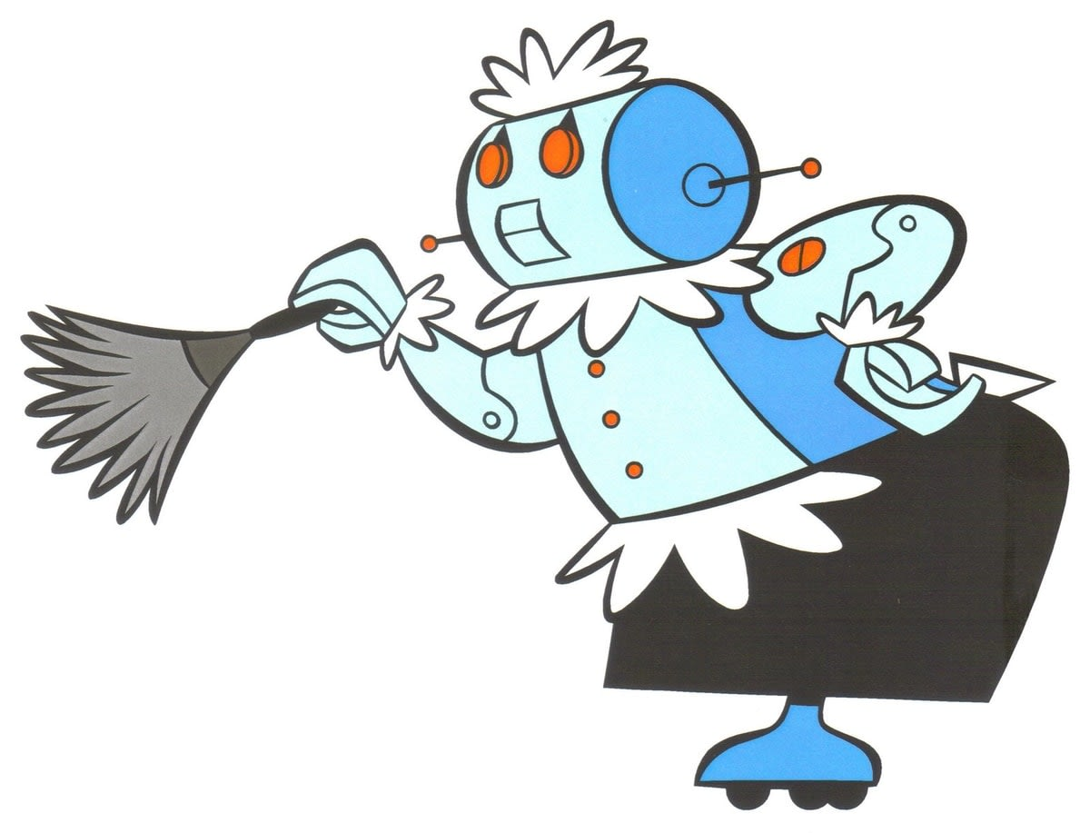 Image of Rosie the robot, from 1960s cartoon The Jetsons