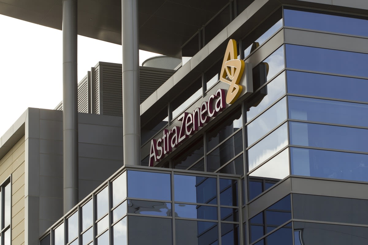 AstraZeneca offices in San Diego, US.