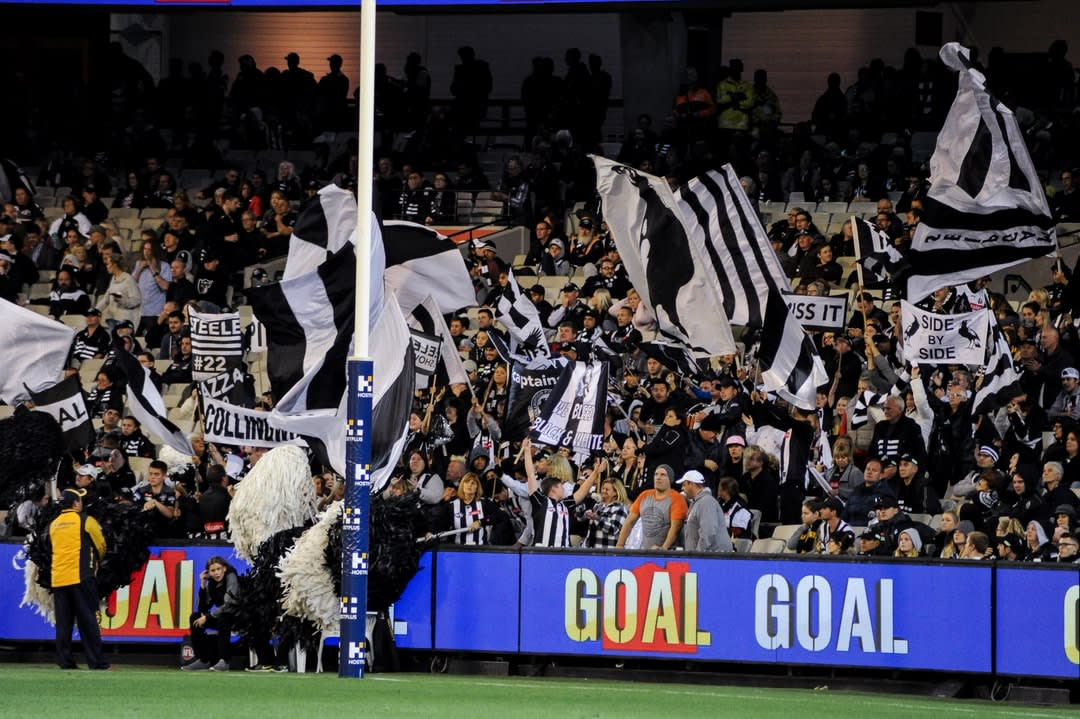 Collingwood football team supporters