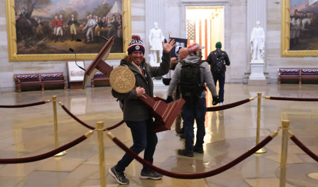 Live: Pro-Trump Rioters Storm the US Capitol