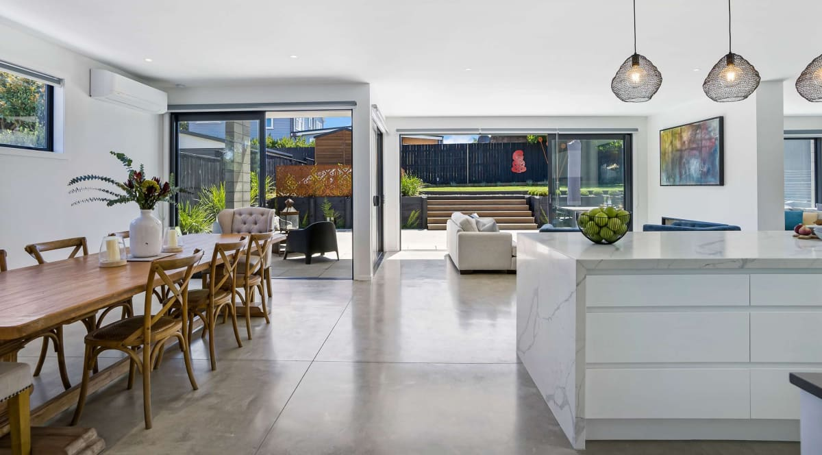 Construction company director Fiona Grove lovingly retored her villa and was tearful at bidding it farewell. Photo: Ray White