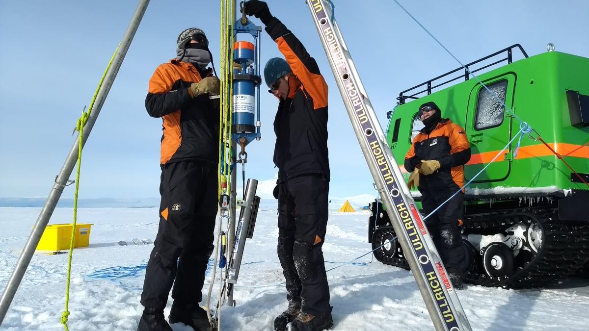 Probing Antarctica's Waters Raises Questions, Uncertainty