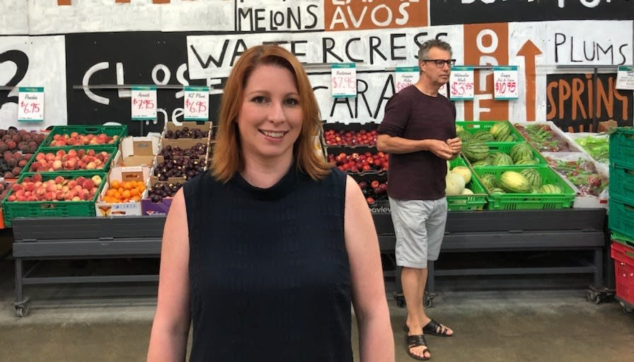 Moore Wilson general manager Amanda Thompson is excited at some of the very new –and very old-fashioned – foods being embraced by Kiwis. Photo: Supplied
