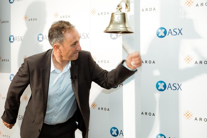 Aroa founder and CEO Brian Ward