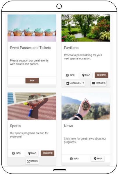 Cogran online registration on smartphone devices, desktop and tablets.