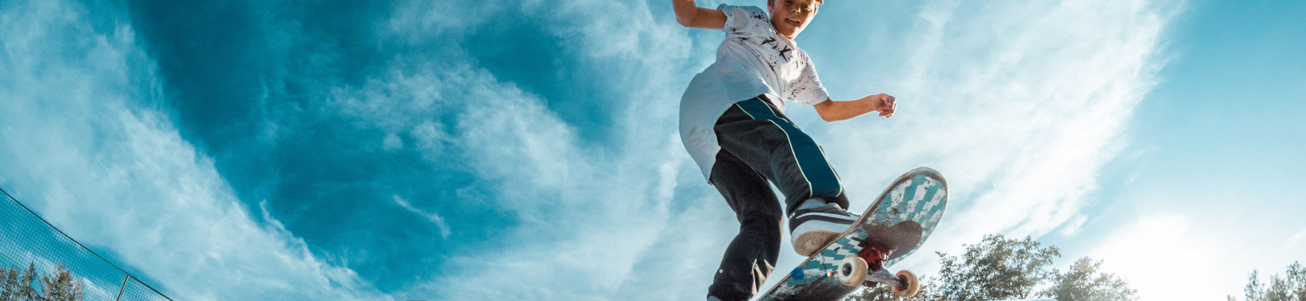 Skateboarder Image