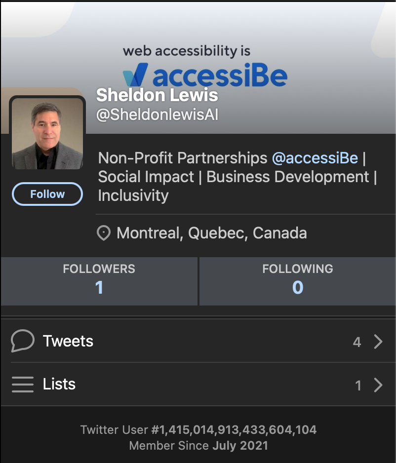 'Sheldon' just joined Twitter today to throw shade. His picture may be from This Person Does Not Exist.