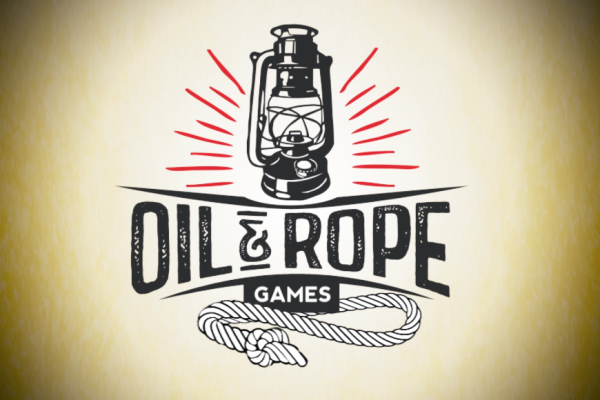 Motion Graphics, Oil and Rope Logo