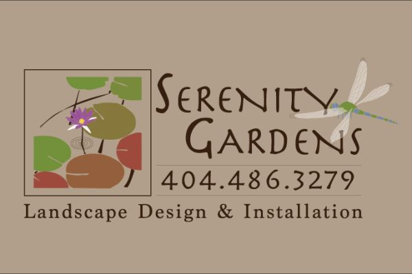 Graphic Design, Serenity Gardens Logo