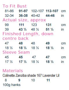 Lil Zanziba PDF Digital Pattern