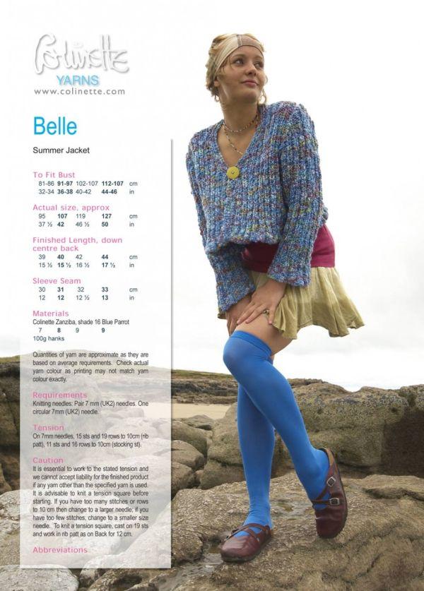 Belle Zanziba PDF Digital Pattern
