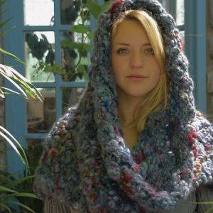 Open Trelliswork Snood digital pattern