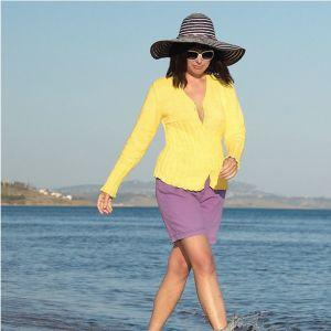 Susie Cardigan in Banyan