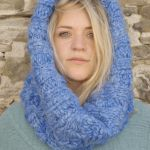 4 Stitch Cable Neck Warmer