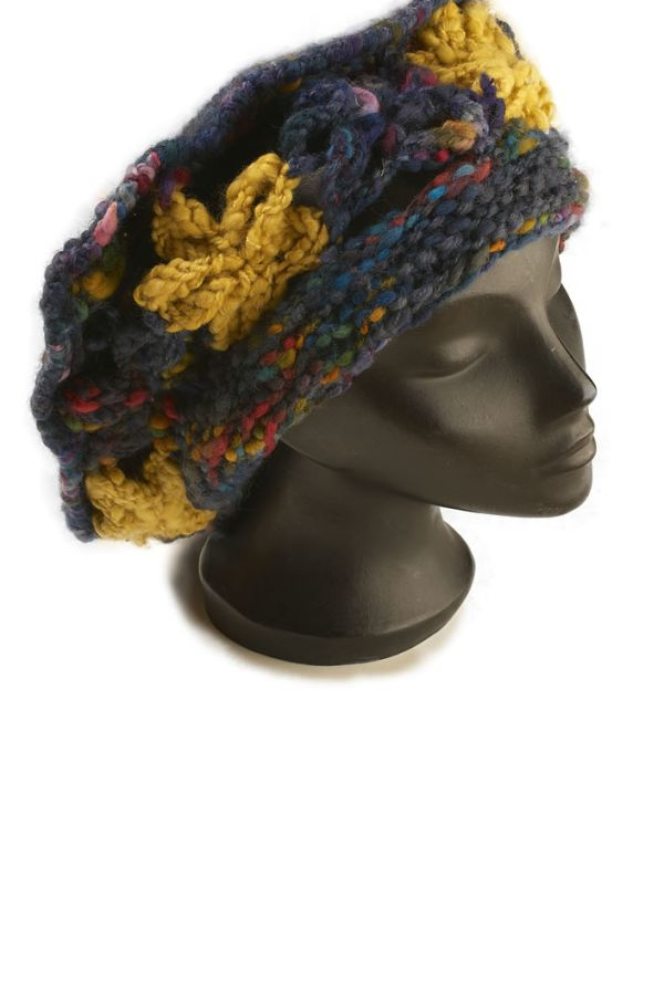 Petals hat pattern PDF