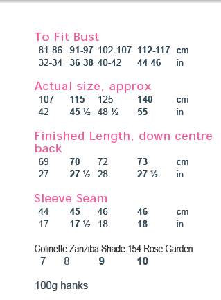 Themla Zanziba sweater PDF digital pattern download