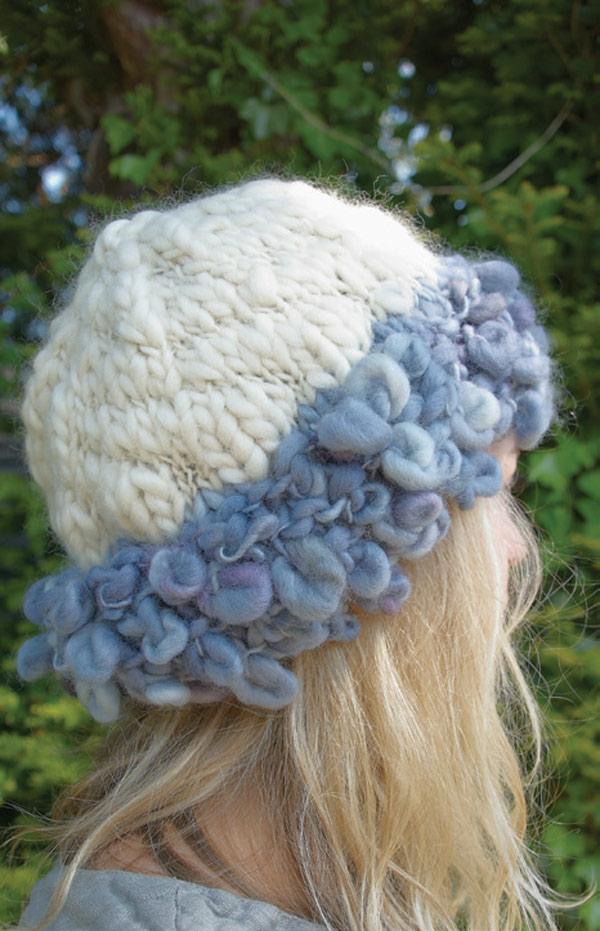 Fur trim hats digital pattern