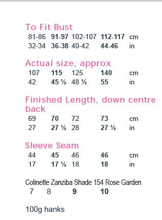 Themla Zanziba sweater PDF digital pattern download