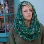 Garter stitch neck warmer digital pattern