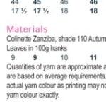 Shannon Zanziba PDF Digital Pattern