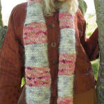 Mohair point five scarf digital pattern