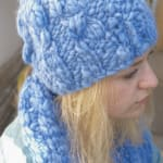 4 stitch Cable Hat