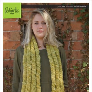 4×4 Ribbed Scarf Digital Pattern