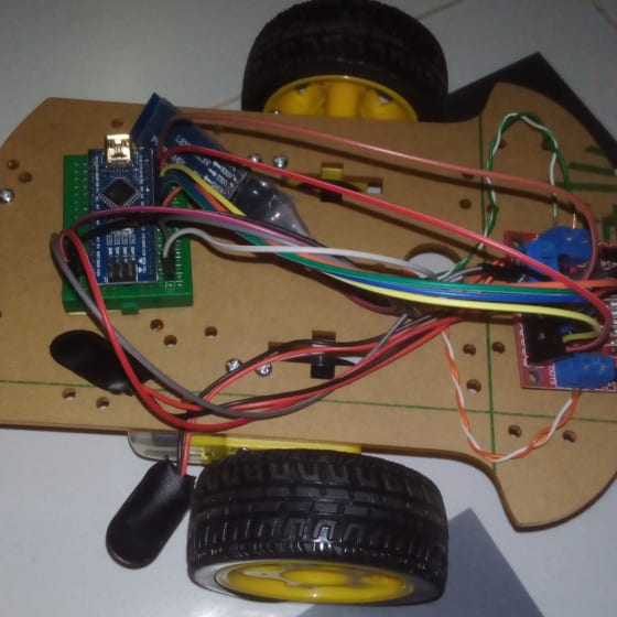 Voice Controlled Robot Using Arduino