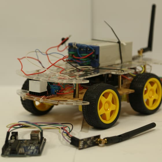 Two wheeled self balancing and self learning Robot