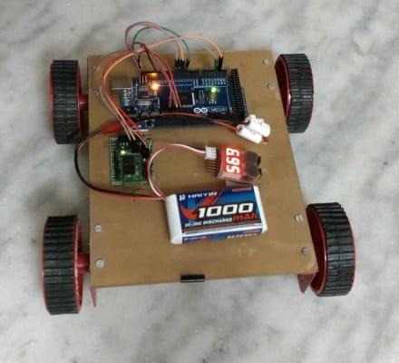 Arduino Bluetooth Bot
