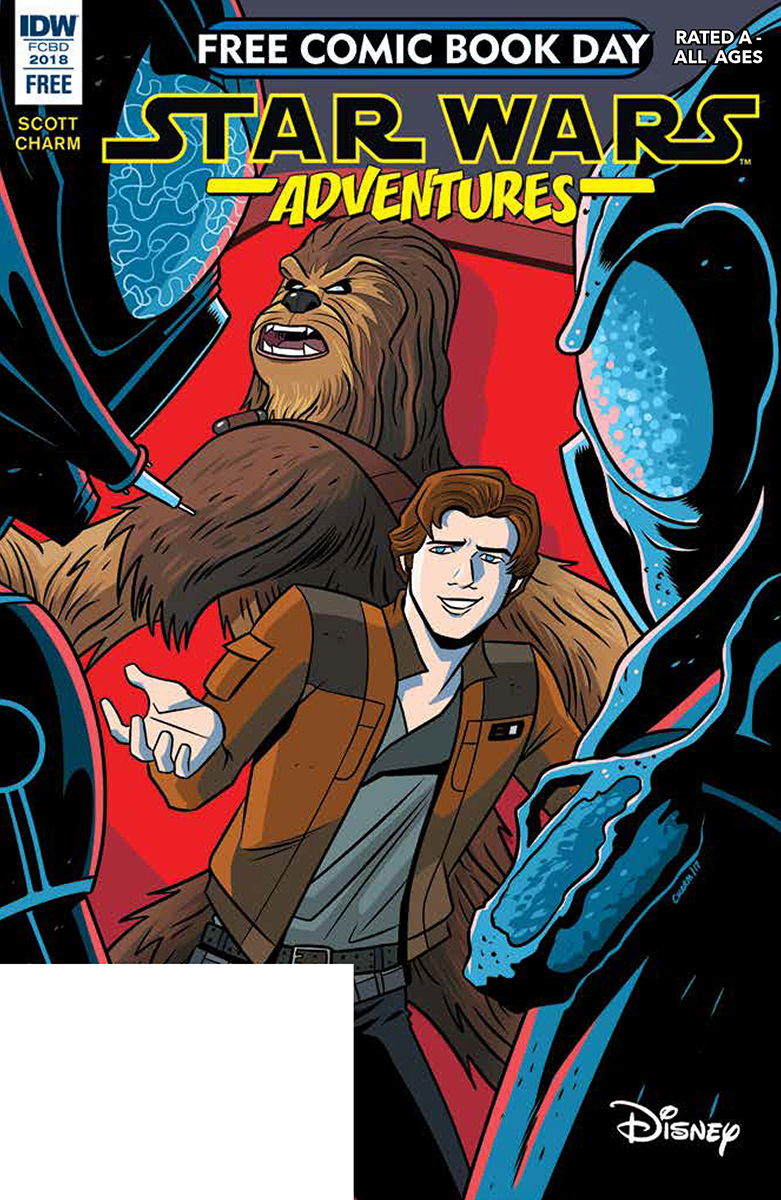 Free Comic Book Day 2018 Star Wars Adventures