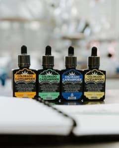 The Colorado CBD Product Lineup