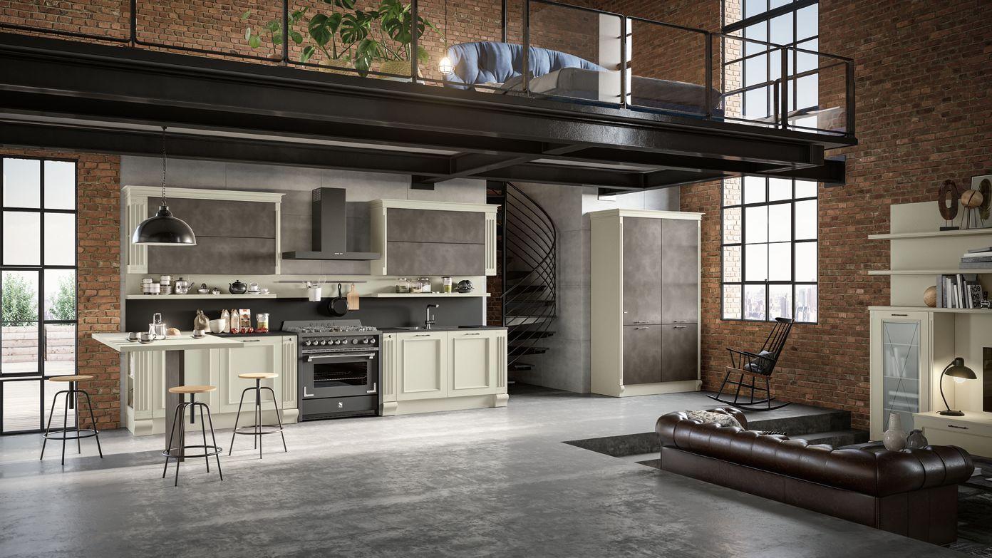 cucina componibile completa   classica   romantica   febal casa