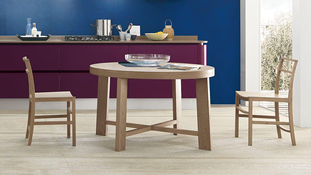 febal casa   tavolo moderno   primavera tondo